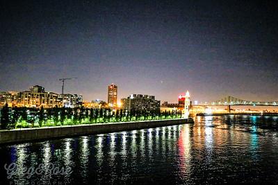 Montreal night lights
