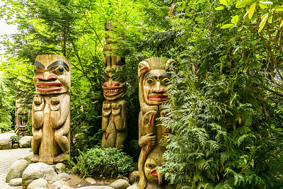 Totem Poles of the First Nation