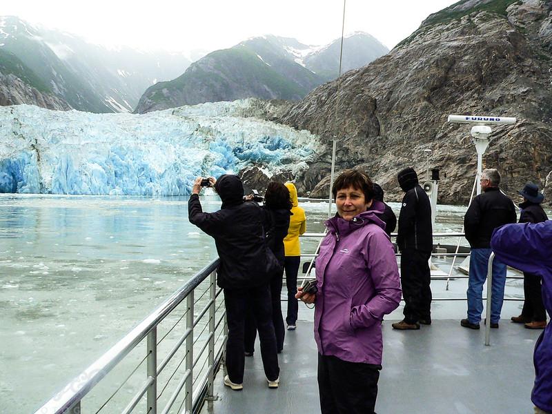 Sawyers Glacier Alaska