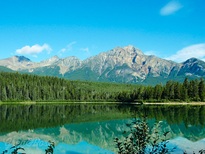 Lake Jasper, Alberta Canada