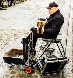 Street Musican Quebec