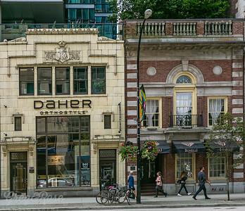 Orthodontia and restaurant Buildings
