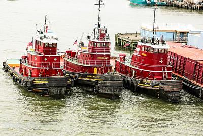 Portland USA Tug Boats.