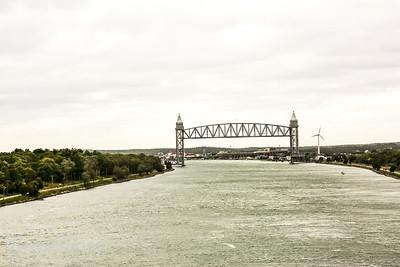 Pedestrian bridge over Cape Cod Canal