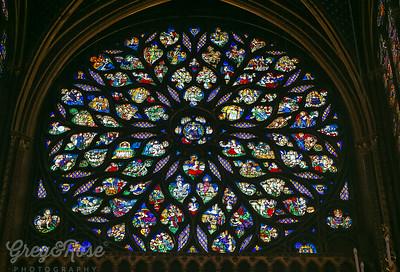 Rose Window of La Chapelle
