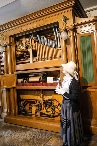 Automated Music displayed in Rudesheim