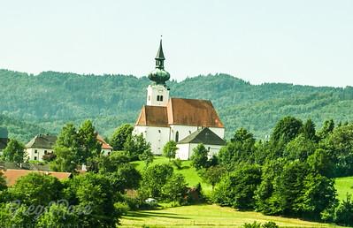 Typical Catholic Church in Austria