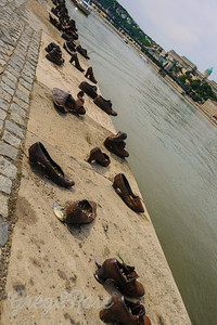 Shoes Budapest, on the banks of the Danube