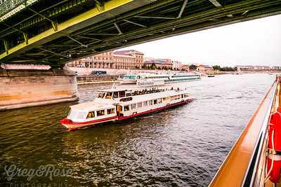 Party boat Budapest