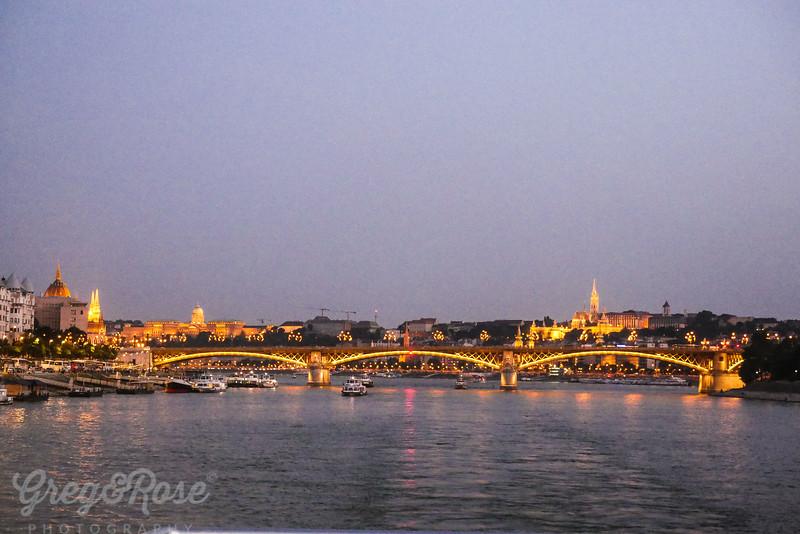 Budapest glowing