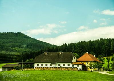 An Austrian Farm House.