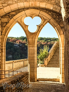 Archway at Rocamadour