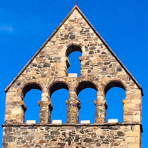 Church Steeple At Beaulieu sur Dordogne
