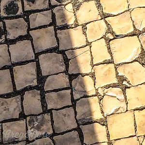 This was A typical of the streets and footpaths of Lisbon