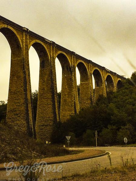 Viaduct at Souliac, Dordogne Region