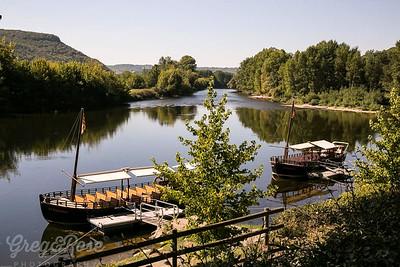 Barques on sur Dordogne
