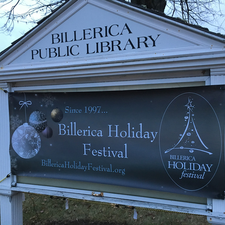 . The Billerica Holiday festival has been lighting up the town since 1997. Photo by Mary Leach
