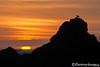 Cradled Sunset