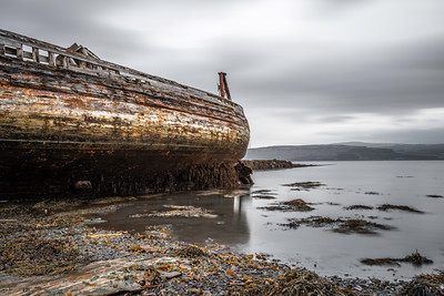 The old boats at Salen