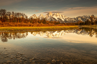 Sunrise over the Grand Teton