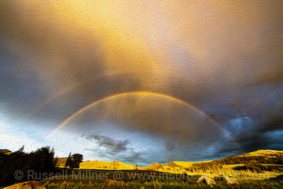 Double rainbow over the Lamar Valley