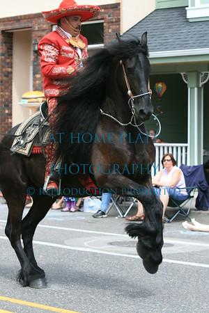 Troutdale Summerfest  Parade 2012, Troutdale, Oregon