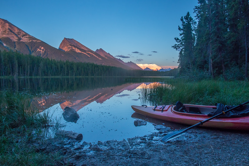 Honeymoon Lake, Jasper National Park, Alberta