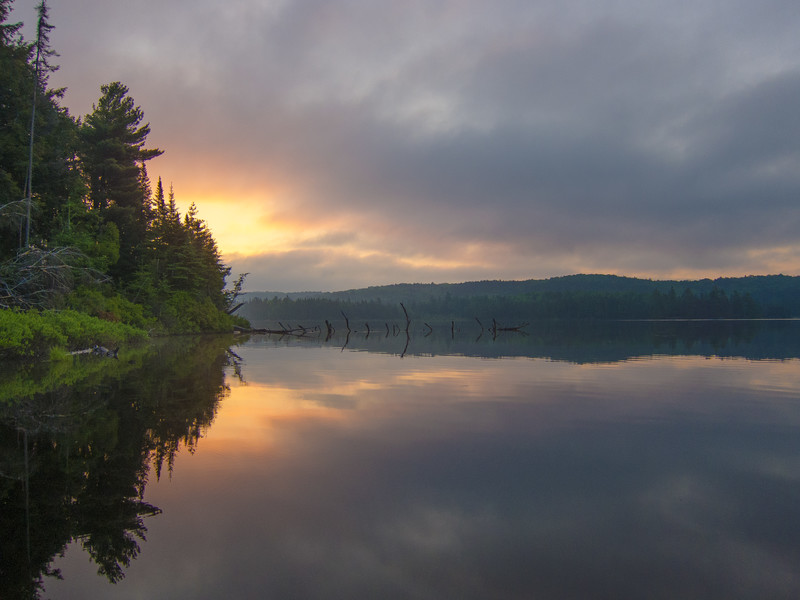 Canisbay Lake, Algonquin Provincial Park, Ontario
