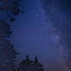 Milky Way over Norway Lake, Algonquin Provincial Park, Ontario