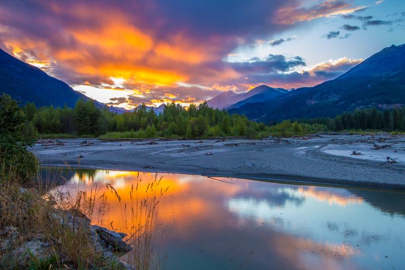 Pemberton Meadows Road, British Columbia