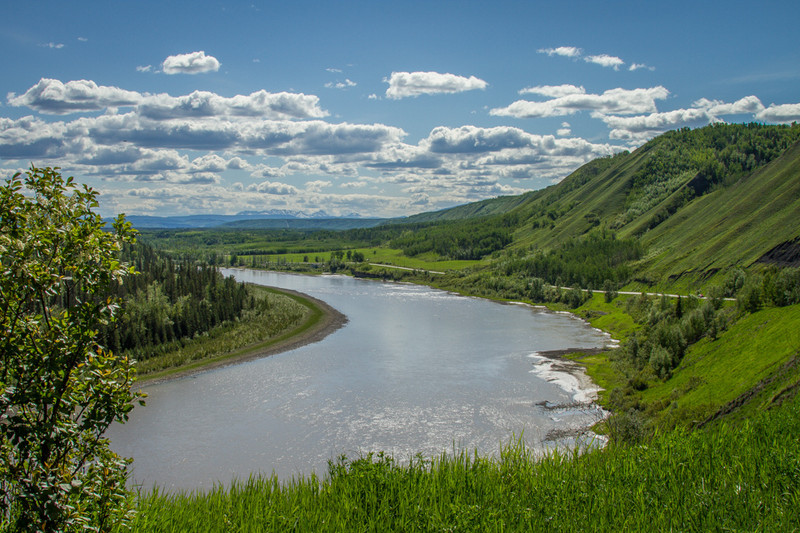 Peace River Valley, British Columbia