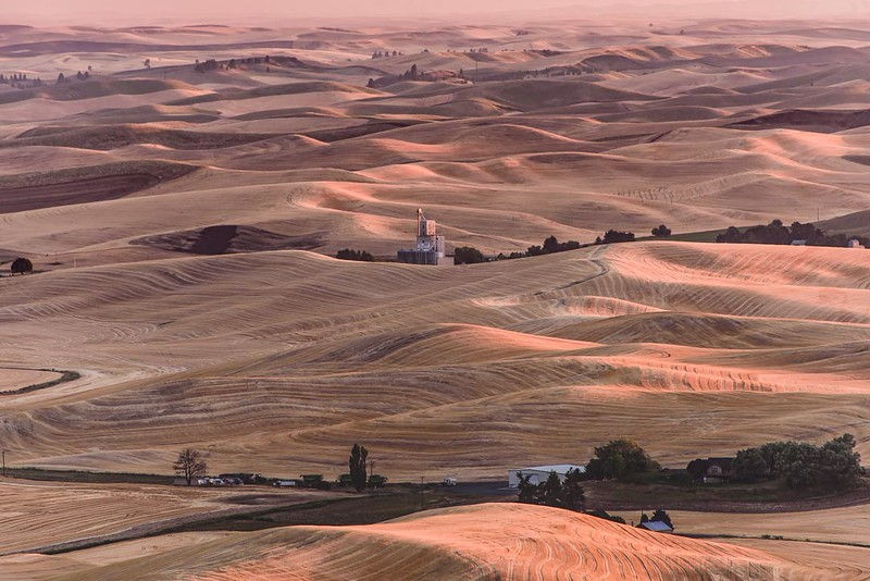 Sunset Over the Palouse