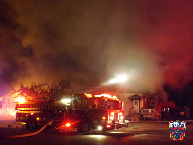 The Sheboygan Fire Department responded to a fire at Zieggy's Bar & Grill at 933 Indiana Avenue in Sheboygan, Wisconsin on Tuesday, June 12, 2012. Photo by Asher Heimermann/Incident Response.