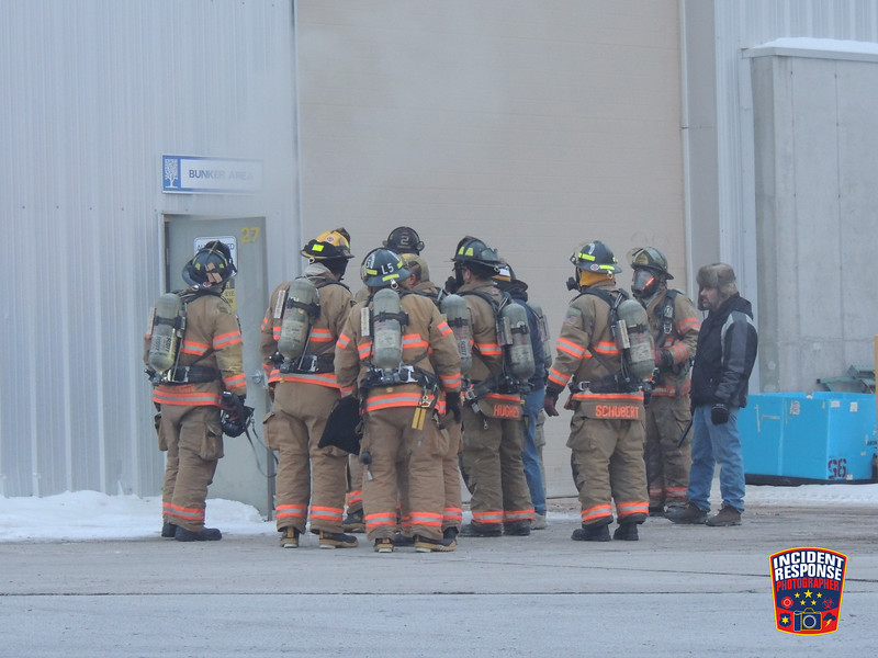 Firefighters responded to a fire at Nemschoff, located at 2218 Julson Court in Sheboygan, Wisconsin on Sunday, January 5, 2014. Photo by Asher Heimermann/Incident Response.