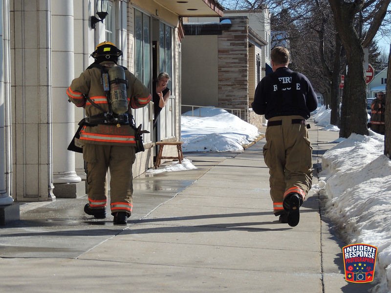 Firefighters responded to a reported electrical fire at Special Operations Detective Agency, located at 1517 South 12th Street in Sheboygan, Wisconsin on Wednesday, February 19, 2014. Photo by Asher Heimermann/Incident Response.
