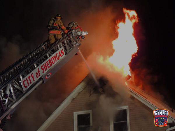 House fire on February 2, 2014