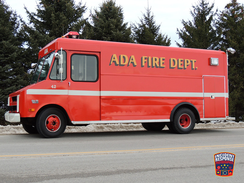 The Ada Fire Department responded to a report of an explosion at N9149 County Road M in the Town of Herman, Wisconsin on Sunday, March 9, 2014. Photo by Asher Heimermann/Incident Response.