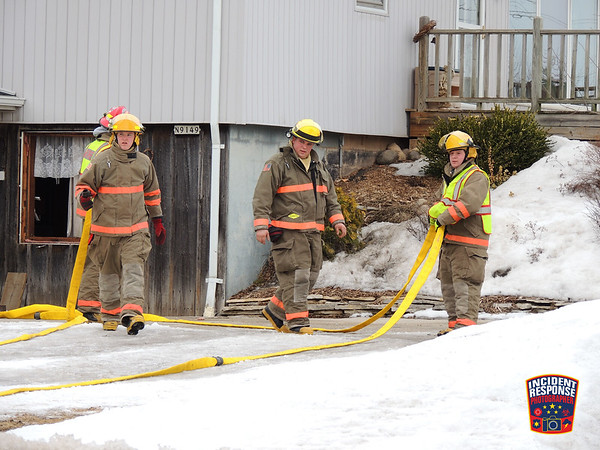 Basement explosion on March 9, 2014
