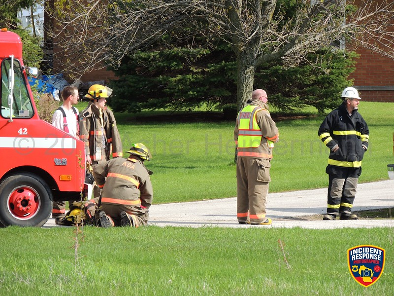 The Ada Fire Department responded to a house fire at County Road XX and County Road M in Manitowoc County, Wisconsin on Saturday, May 17, 2014. Photo by Asher Heimermann/Incident Response.