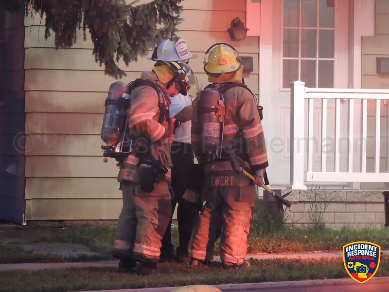 The Sheboygan Fire Department responded to a house fire at 1711 Erie Avenue in Sheboygan, Wisconsin on Wednesday, July 30, 2014. Photo by Asher Heimermann/Incident Response.