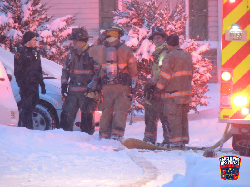 A fire caused an estimated $250,000 in damages at the Riverwalk Apartments in the 800 block of North 10th Street in Sheboygan, Wisconsin on Saturday, December 17, 2016. Photo by Asher Heimermann/Incident Response.