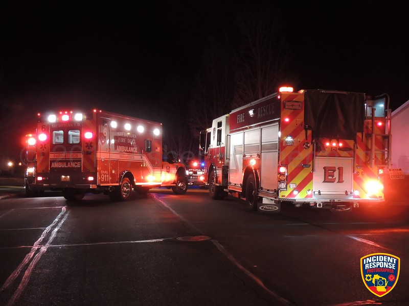 The Sheboygan Fire Department responded to a fire at the Camelot Manor Apartments on Saturday, February 18, 2017. Photo by Asher Heimermann/Incident Response.