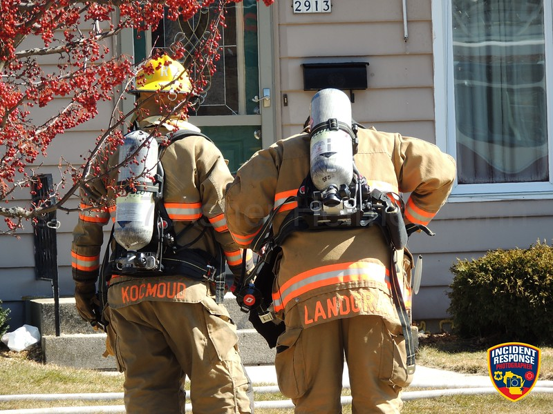 Firefighters responded to a residential fire at 2913 South 11th Street in Sheboygan, Wisconsin on Sunday, March 11, 2017. Photo by Asher Heimermann/Incident Response.