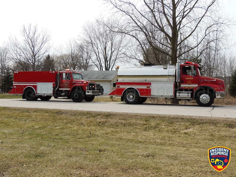 Firefighters responded to a house fire at W6390 Aurora Road in the Town of Plymouth, Wisconsin on Sunday, March 12, 2017. Photo by Asher Heimermann/Incident Response.