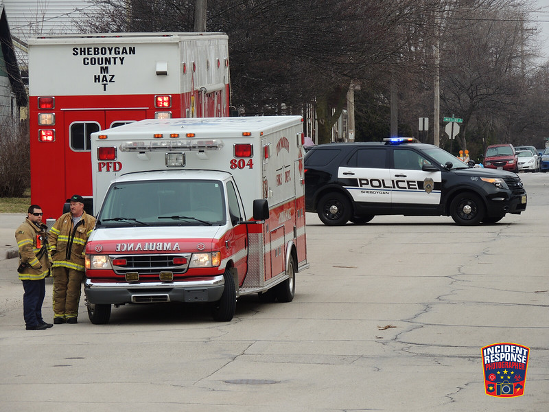 The Sheboygan County HAZMAT Team was called to Thomas Industries for a strong unidentified odor on Wednesday, April 16, 2014. Photo by Asher Heimermann/Incident Response.