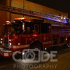 Chicago Fire Department on scene of a factory fire around 11PM. They had smoke on arrival and trouble gaining access to the building. It was a film processing factory.