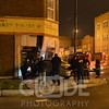 Chicago Police and Fire on scene of a vehicle into a building around 1AM.