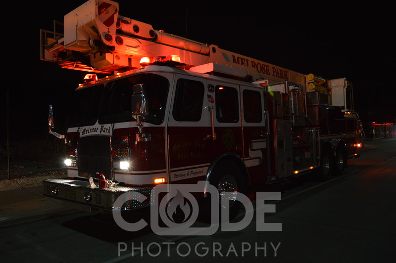 The maywood fire dept had a struture fire at 1304 w st charles rd. the fire was contained to a bedroom. The fire was boxed for additional manpower.