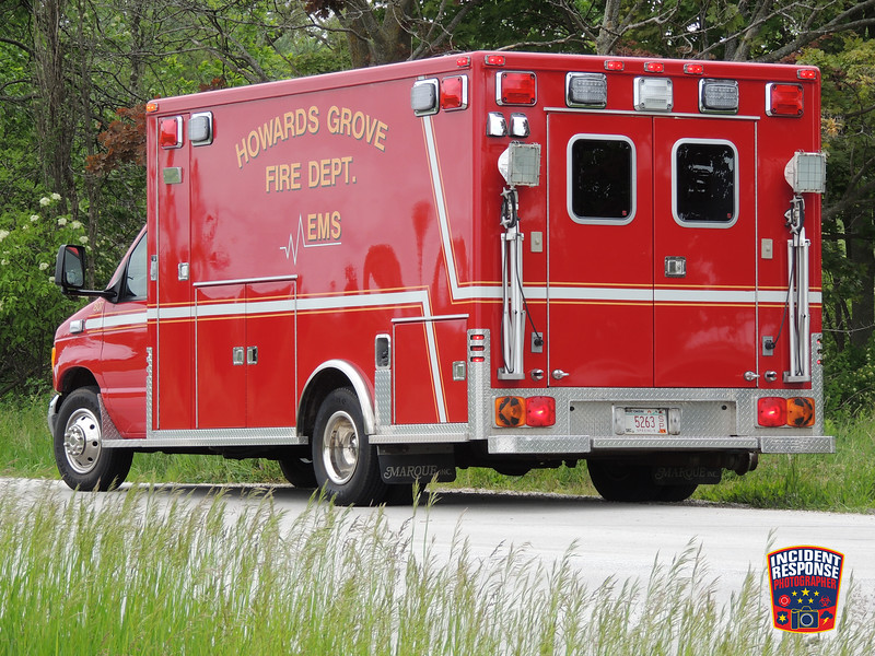 Single vehicle rollover crash with injuries on County Road LS at Rowe Road in the Town of Mosel, Wisconsin on Monday, June 6, 2016. Photo by Asher Heimermann/Incident Response.