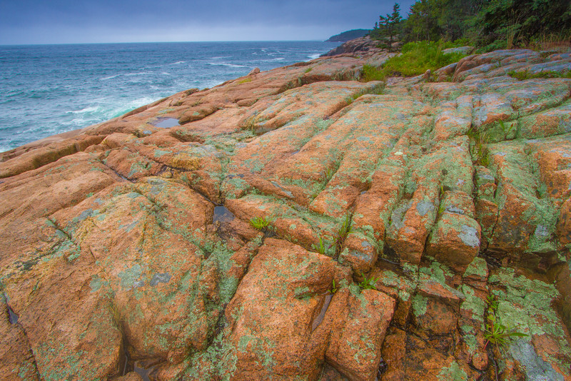 looking towards Otter Point, Acadia National Park, Maine